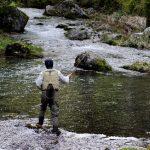 フライフィッシングは何メートル投げれば釣れますか?