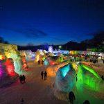 支笏湖氷濤まつり2015年花火も上がります!