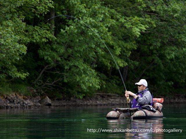 然別湖ミヤベイワナ冬釣り解禁2016